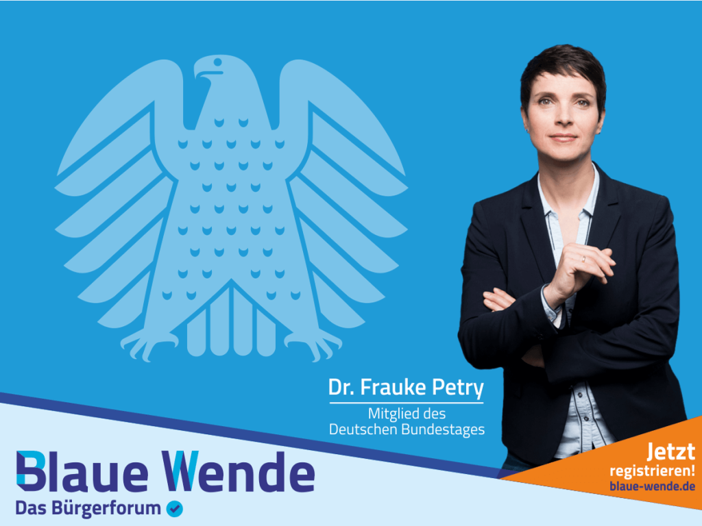 Bundestag Frauke Petry