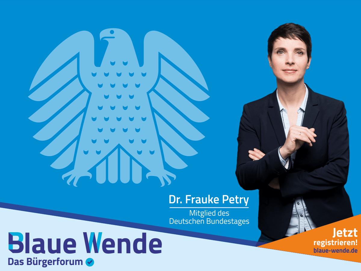 Bundestag Frauke Petry