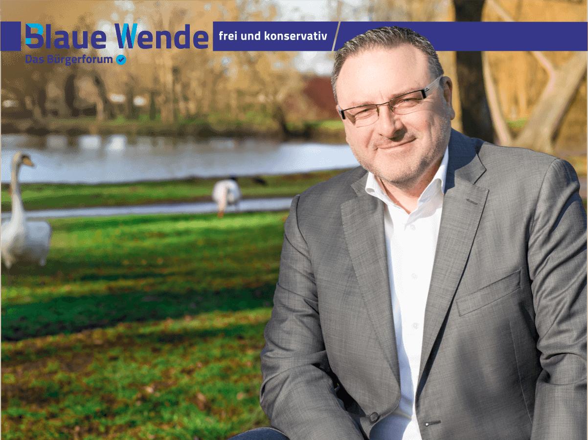 Jens Krautwurst Blaue Partei
