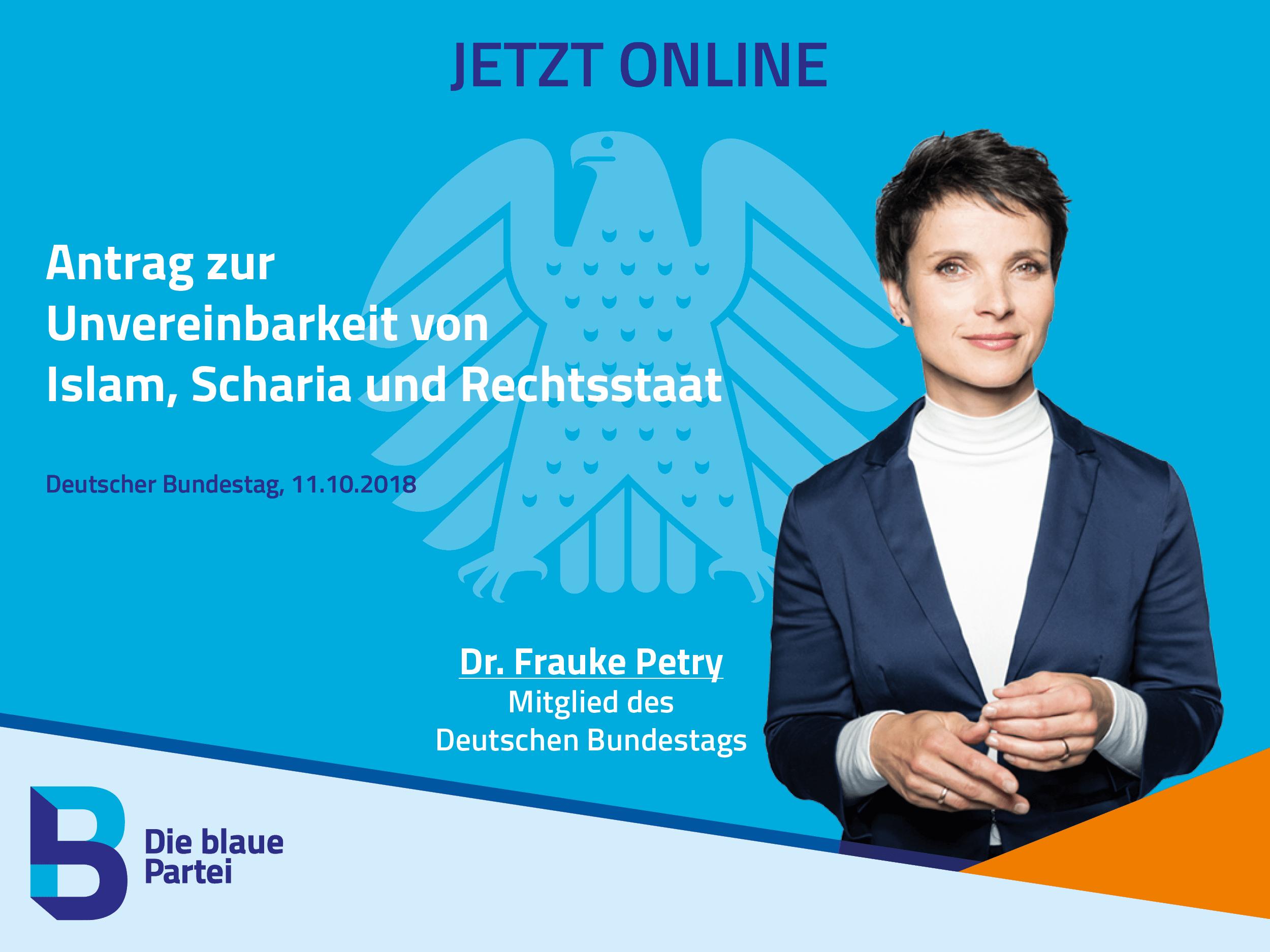 Frauke Petry Deutscher Bundestag