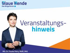 Veranstaltungshinweis Frauke Petry