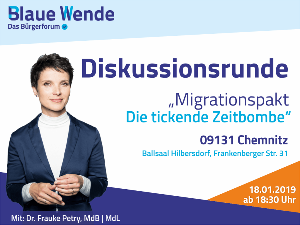 Frauke Petry in Chemnitz