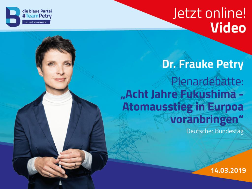 Frauke Petry Atomenergie